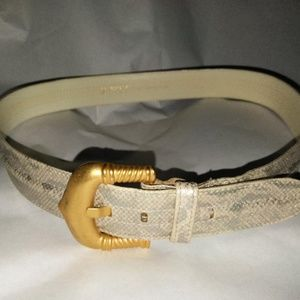 ESCADA LEATHER BELT--VINTAGE